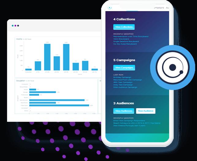 Die Migration unserer Marketing- und Analyse-Funktionalitäten in die Orbit Online-Plattform beginnt, damit diese über einen Web-Browser auf den unterschiedlichsten Endgeräten verfügbar werden. Apteco bleibt mit 55 Mitarbeitern in Privatbesitz und selbstfinanziert.